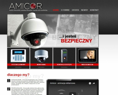 Amicor - systemy bezpieczeństwa