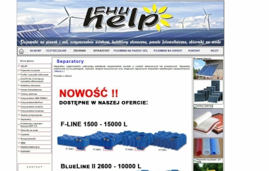 FHU Help - Kolektory i baterie słoneczne