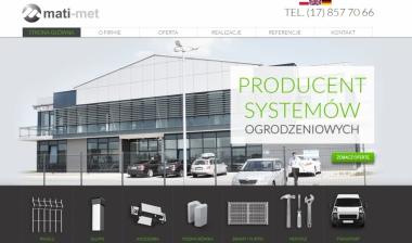 Mati-Met - Producent paneli ogrodzeniowych