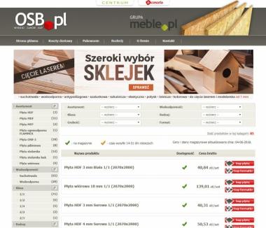 OSB.pl - Płyta pilśniowa